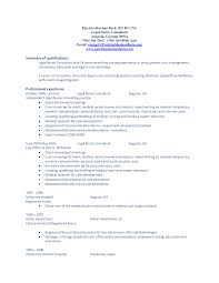 resume examples summary of qualifications resume examples  resume examples summary of qualifications and professional experience as legal nurse consultant