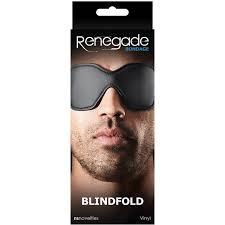 <b>Маска</b>-<b>шоры на глаза</b> Renegade «Bondage - Blindfold - <b>Black</b> ...