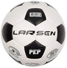 Футбольный <b>мяч Larsen</b> Pep <b>№5</b> white купить, цены в Москве на ...