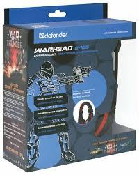 Компьютерная <b>гарнитура Defender Warhead G-185</b> — купить по ...