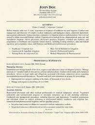 attorney resumes law category legal resume format