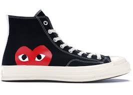 Converse Chuck Taylor All-Star 70s Hi <b>Comme des Garcons</b> PLAY ...