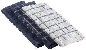towel set ritz amazoncom ritz terry cotton kitchen dish towels federal blue  pack hom