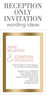 best ideas about reception only invitations reception only invitation wording