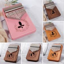 <b>17 Keys Kalimba</b> Piano Cat <b>Pattern</b> Thumb Finger Piano +Tuning ...