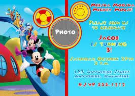 mickey mouse clubhouse birthday invitations hollowwoodmusic com mickey mouse clubhouse birthday invitations out reducing the winsome essence of invitation templates printable on your birthday 8