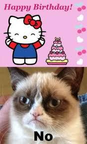 Birthday on Pinterest   Grumpy Cat Birthday, Grumpy Cat and Grumpy ... via Relatably.com