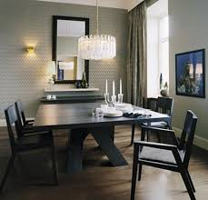Modern Crystal Chandeliers For Dining Room Remarkable Contemporary Chandeliers For Dining Room High