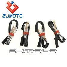 high quality suzuki wiring harness buy cheap suzuki wiring harness 4 pcs motorcycle oem turn signal wiring adapter plug harness connectors 2 wire for suzuki