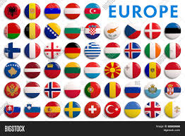 all europe countries flags alphabetical order stock photo all europe countries flags alphabetical order