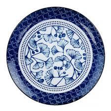 <b>Тарелка 26</b> см Tokyo Design <b>Flora Japonica</b> синяя, цена 2090 руб ...