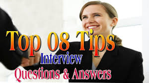 top tips of interview questions answers in english job top 08 tips of interview questions answers in english job interview skills training skills