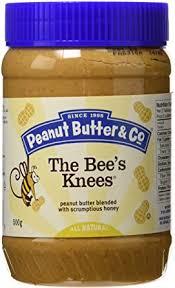 Peanut Butter <b>The Bee's Knees Peanut</b> Butter, 500 Gram: Amazon ...
