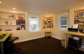 basement office design with exemplary albany basement recreation room home office traditional model basement office design