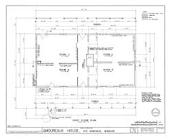 Description Drawing of the First Floor Plan Amoureaux House in Ste    Description Drawing of the First Floor Plan Amoureaux House in Ste