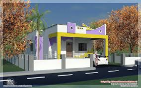 bedroom South India style mini st Tamilnadu house design    South Indian single floor house