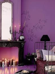 Purple Living Room Design Violet Room Decor
