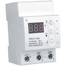 <b>Реле контроля напряжения RBUZ</b> D63t - купить, цены, фото и ...