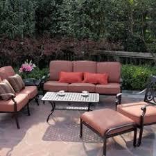 patio set woodard sodo darlee st cruz cast aluminum deep seating patio conversation set seats