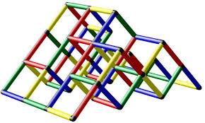<b>Quadro Конструктор</b> крупногабаритный Climbing pyramid ...