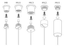 y fits zinc nipple cable suspension lighting fixtures systems lamp hanging kit cable lighting fixtures