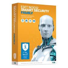 <b>Антивирус ESET NOD32</b> Smart Security Family <b>1</b> год на 5 устройств
