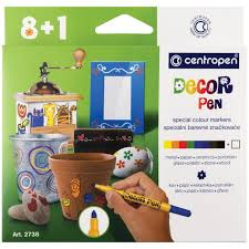 <b>Centropen Набор</b> маркеров для декорирования Decor Pen 2738 9 ...