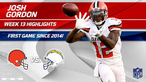 Josh Gordon Highlights, First Game Since 2014! | Browns vs ...