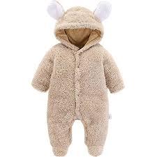 Morbuy <b>Baby Rompers</b>, <b>Newborn</b> Unisex Baby Winter Jumpsuit ...
