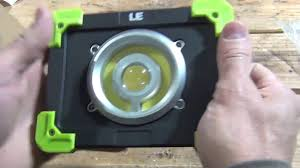 <b>LED Work Light</b> - <b>20W</b> Rechargeable - YouTube