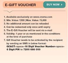 Croma Gift Cards | Buy Perfect Electronic Gifts Online | Croma