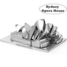"""Металлический <b>3D пазл</b> - """"Сиднейский оперный театр"""", Sydney ..."""