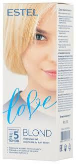 ESTEL Love <b>Интенсивный осветлитель для волос</b> — купить по ...