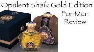 <b>Opulent Shaik Gold</b> Edition for Men | Fragrance Review - YouTube
