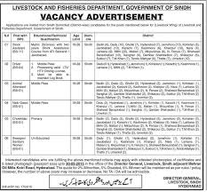 vacancy announcement in livestock fisheries department pk get job updates in your email directly