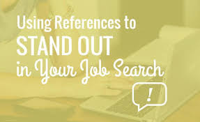 using references to stand out in your job search  resume hacking using references to stand out in your job search