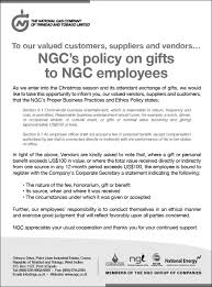 media releases notifications ngc ngc s policy on gifts to ngc employees