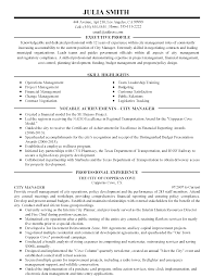 professional city manager templates to showcase your talent resume templates city manager