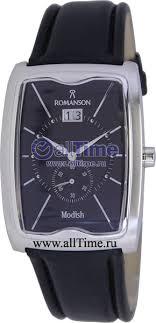 Наручные <b>часы Romanson</b> DL5121SMW(BK) — купить в ...