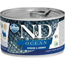 🥇 Беззерновые <b>консервы Farmina N&D</b> Ocean canine Herring ...