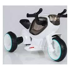 Электромотоцикл <b>Наша Игрушка</b> Олимп, белый — купить в ...