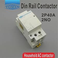 <b>2P 40A 220V/230V</b> 400V~ 50/60HZ Din rail Household ac contactor ...