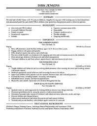 nanny resume examples are made for those who are professional nanny resume example nanny resume examples nanny resume sample nanny resume template resume for nanny