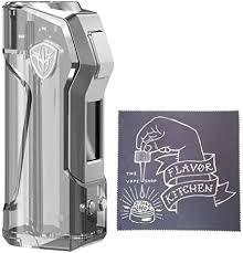 Amazon.co.jp: <b>Rincoe JellyBox Mini</b> 80W TC Box Mod Skeleton LED ...