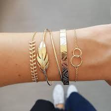 best top 10 <b>copper</b> set crystal <b>leaves</b> bangles ideas and get free ...