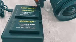 <b>Canon lp</b>-<b>e17</b> Battery Replacement - Neweer DSLR Dual Battery ...