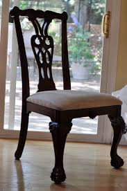 Dining Room Chairs With Casters And Arms Black Wooden Carving Wooden Chair With Wooden Back Also Cream Seat