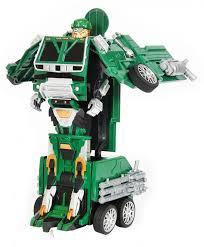 <b>Радиоуправляемый робот трансформер MZ</b> Военный грузовик 1 ...
