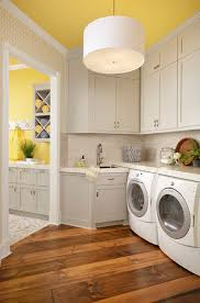 how to add color to your laundry room bright modern laundry room