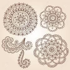 henna mehndi doodles fleur résumé floral design paisley vector banque d images henna mehndi doodles fleur résumé floral design paisley vector illustration elements